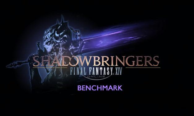 Le Benchmark Shadowbringers est arrivé