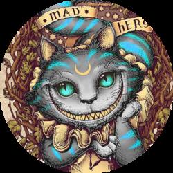 Logo Nawiel en Live - Sheshire Cat