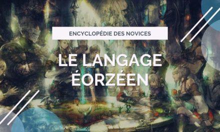Le langage éorzéen