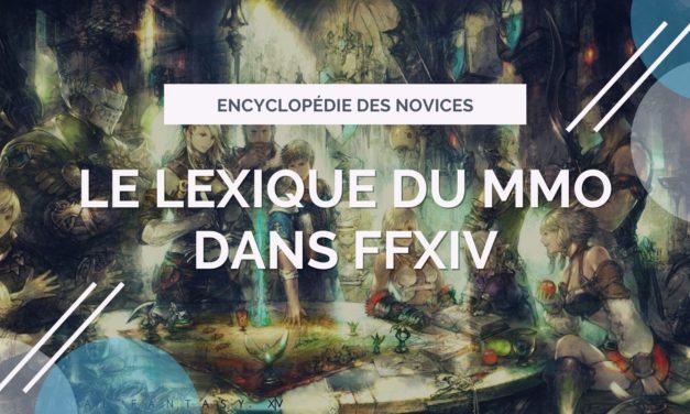 Le lexique du MMO dans FFXIV