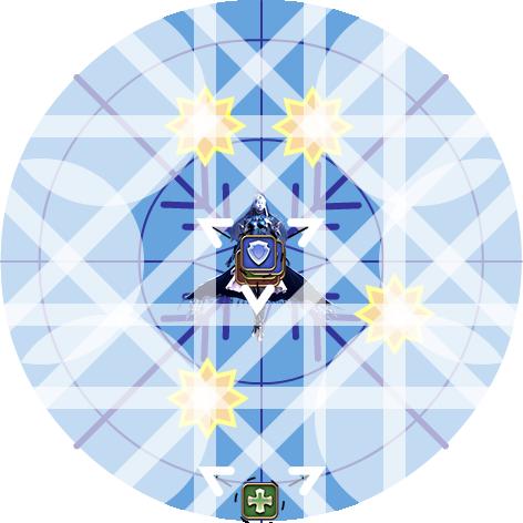 Poussière de diamant - position fixe fin de phase