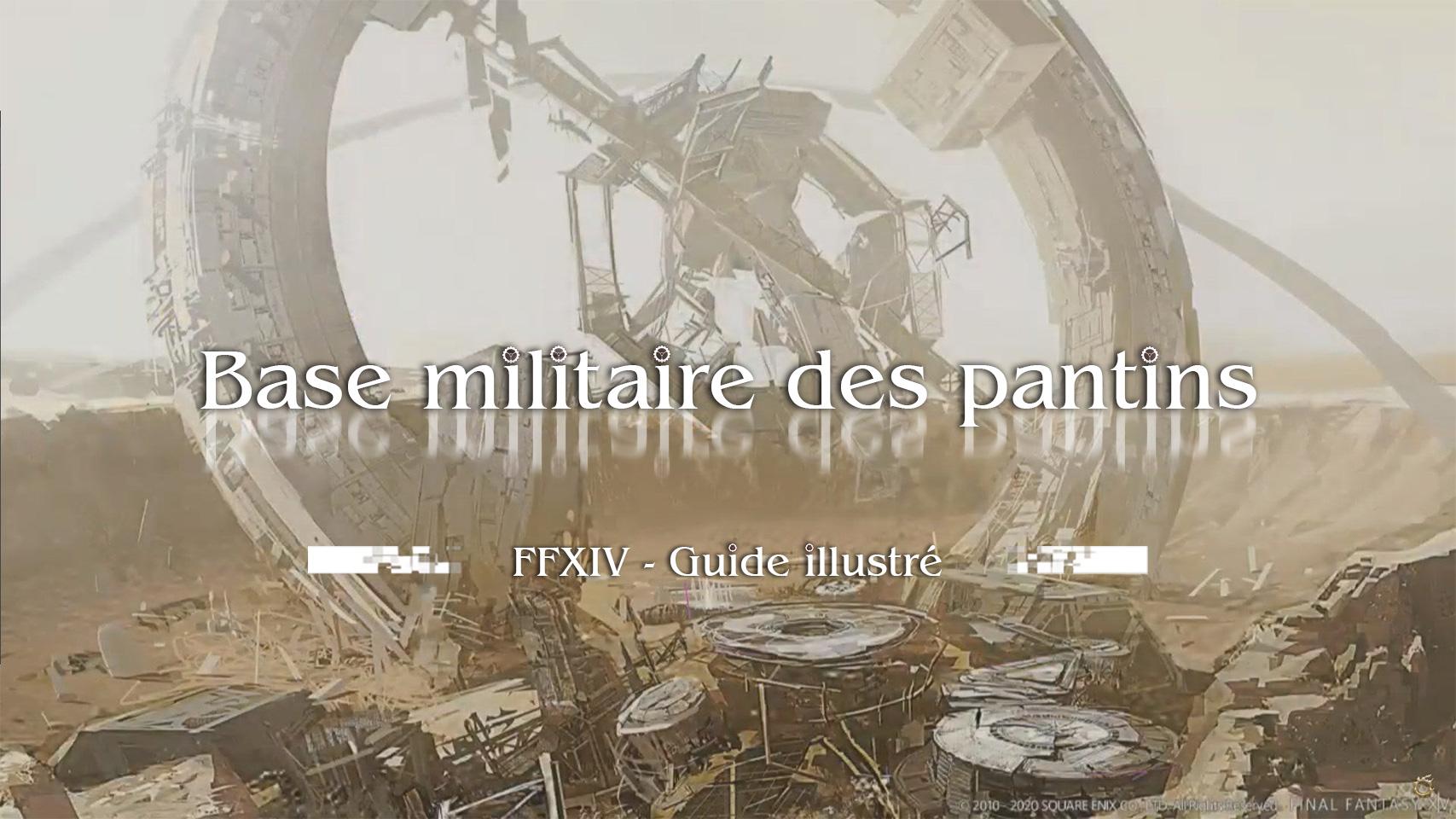Illustration - Base militaire des pantins
